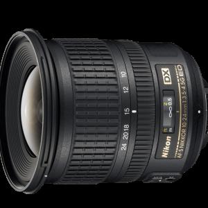 لنز نیکون مدل AF-S DX Nikkor 10-24mm f/3.5-4.5G ED /DX Format