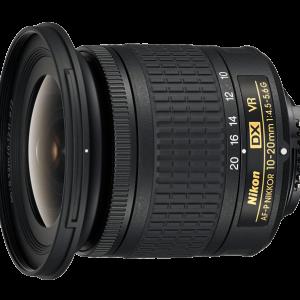 لنز نیکون مدل AF-P DX Nikkor 10-20mm f/4.5-5.6G VR