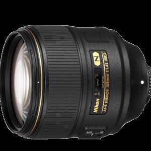 لنز نیکون مدل  Nikon AF-S NIKKOR 105mm f/1.4E ED