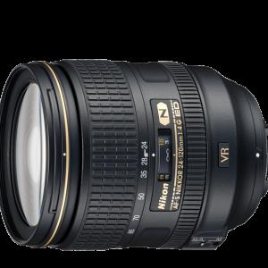 لنز نیکون مدل  AF-S Nikkor 24-120mm f/4G ED VR